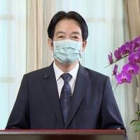 應哈佛學生會之邀 賴清德演說談台灣防疫、中國威脅