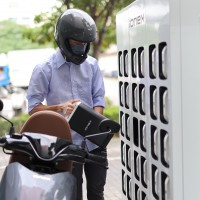 Taiwan's KYMCO eyes 1,000 battery swap stations by year's end