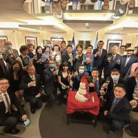 Taiwan envoy to Argentina holds National Day reception