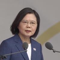更新【雙十國慶演說】 蔡英文:台灣人不會在壓力下屈服
