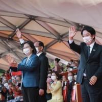 賀雙十國慶 賴清德: 以台灣為榮,為她奮鬥