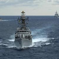 四方成員國本月聯合軍演 軍艦齊聚孟加拉灣