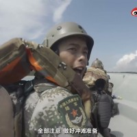 China video shows PLA troops in beach landing drill on Taiwan's National Day