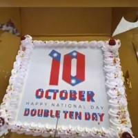 Video shows Indians enjoying Taiwan National Day cake