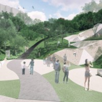 Taipei's new forest park in Wenshan expands to 11 hectares, boasts 46-meter slide