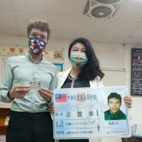 Frenchman Remy Gils receives Taiwan citizenship after 15 years