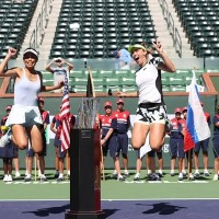 Taiwan's Hsieh Su-wei and Belgian partner win Indian Wells title