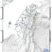 Magnitude 5.3 earthquake jolts eastern Taiwan