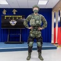 Taiwan unveils its 'Army Iron Man' exoskeleton