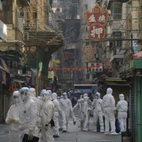 武漢肺炎疫情升溫 香港封鎖九龍部分地區