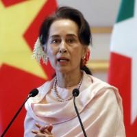 Myanmar junta leader says Suu Kyi will soon appear