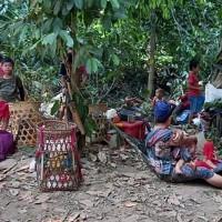 緬甸克倫裔少數民族不堪砲火襲擊 跨越邊境尋求泰國庇護