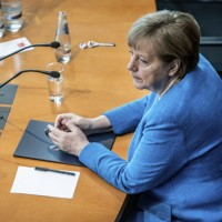 German chancellor fears conflict in Taiwan Strait