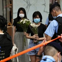 Hongkongers mourn man who attacked police and killed himself