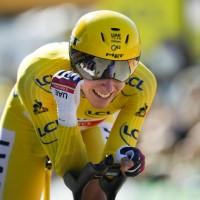 Tour de France winning margin could not have been bigger, says Pogacar