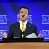 Chinese embassy in Canberra accuses Japanese ambassador of glorifying WWII militarism