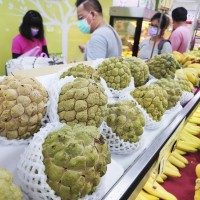 Taiwan makes 9 failed requests to negotiate China's fruit ban