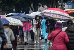 Taiwan's 3-day holiday to see soggy start