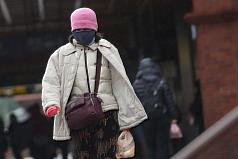 Cold front to hit Taiwan tomorrow, dropping mercury to 9 degrees