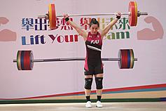 台灣舉重好手郭婞淳 亞錦舉3金奪奧運門票