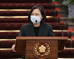 蔡英文獲泰媒評選全球傑出女性 總統府:有賴台灣團結防疫