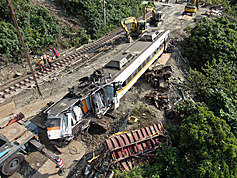 Donation methods to victims of the eastern Taiwan train derailment announced