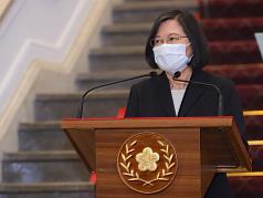 國安會議因應疫情升溫 蔡英文:國產疫苗7月底推出