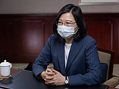 Taiwan president thanks Lithuania for vaccine donation