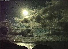 Video shows fireball meteor explode over Taiwan