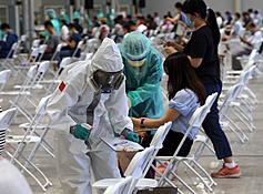 疫苗覆蓋率22.48% 陳時中:接種受颱風影響則併入下一期