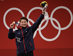 Weightlifter wins Taiwan's record 6th medal