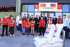 Taiwan donates humanitarian aid to Turkey