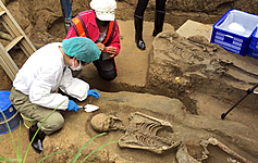2500-year-old human remains excavated during rail construction in Taiwan