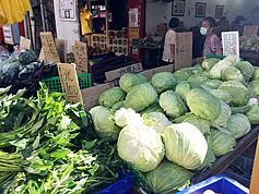 Vegetable prices skyrocket as Super Typhoon Chanthu bears down on Taiwan