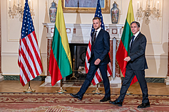 立陶宛挺台抗中成典範 美國:鐵一般堅定的支持 台灣外交部:共同捍衛民主自由