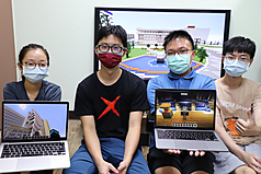 Taiwan university students build virtual campus in Minecraft