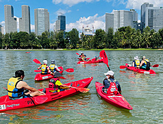 COVID-19 帶動國旅潮 新加坡「獨木舟歷史之旅」廣受歡迎