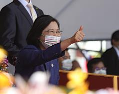 China's comments on Taiwan president's National Day speech 'unconstructive and slanderous'