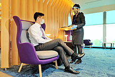 Dining service at Taiwan Taoyuan International Airport partially reopens