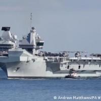 英兩軍艦常駐印太地區「至少五年」 英海軍參謀長:台灣海峽是自由開放印太一部分