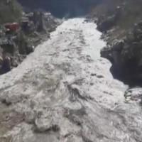 喜馬拉亞冰川斷裂印度洪災逾百人失蹤 科學家:全球均溫上升是元凶