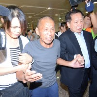 Pirate hostage returns to Taiwan after 4 years