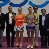 Chang ends runner-up in both singles and doubles of OEC Taipei WTA 125K Series