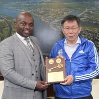 市長訪台 南非政府大動作切割