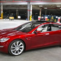 Tesla Model S cars roll into Taiwan