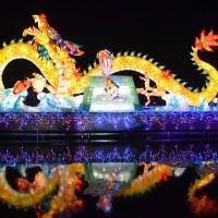 每日一圖:台灣燈會在雲林 北港燈區今率先點燈