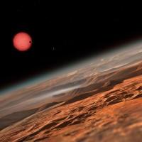 另一個太陽系! 一個太陽是粉紅色的世界