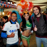 Latin carnival heats up winter day in Taipei