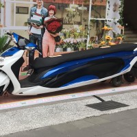 Photo of the Day: No Photoshop? A modified scooter appears on Taipei street