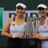 Taiwan's Chan Yung-jan wins women's doubles title